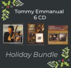 Tommy Emmanuel 6 CD Holiday Bundle